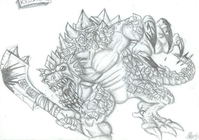 File:Lizardman Sketch.jpg