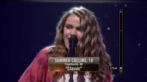 Rising Star - Summer Collins Sings 'Classic'