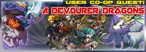 4 Devourer Dragons