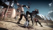 Mad max videogame - hand to hand combat