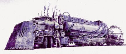 The War Rig by Tony Wright 1999