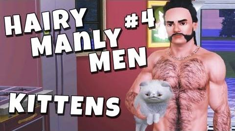 The Sims 3 - Hairy Manly Men 4 Kittens-2