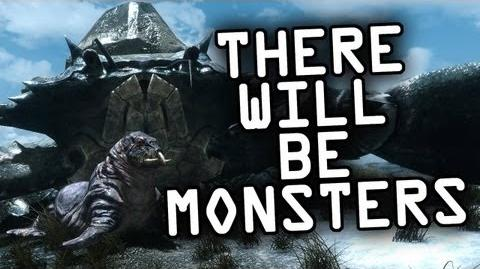 Skyrim - Here There Be Monsters - Monster Hunting Mod