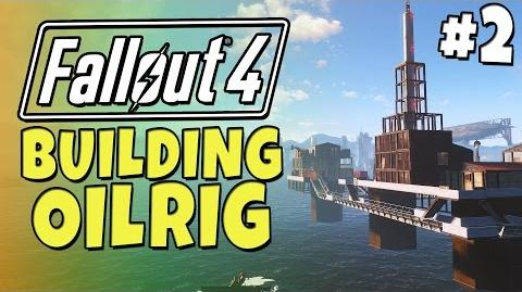 Fallout 4 - Building a Oil Rig -2