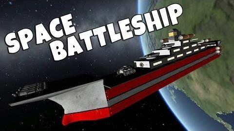 KSP - Space Battleship