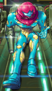 Omega X in his new suit