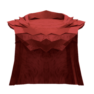 Large Red Cloak