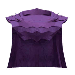 Large Purple Cloak