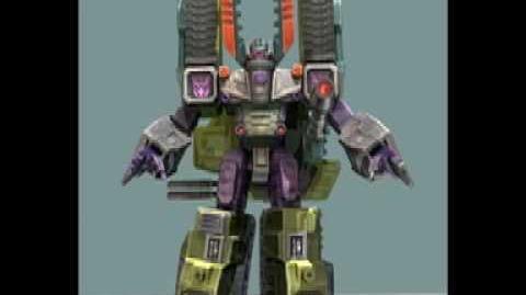 Transformers Armada Game Score - Megatron