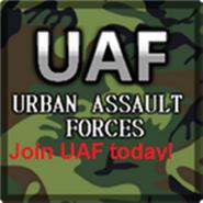 Urban Assault Forces Classic Logo