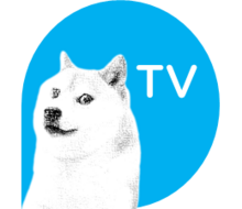 Doge-tv-blue