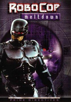 RoboCop Meltdown cover 1