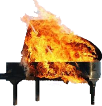 BurningPiano