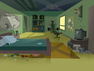 RB078B016 CD sc207 INT DONNIE'S ROOM day