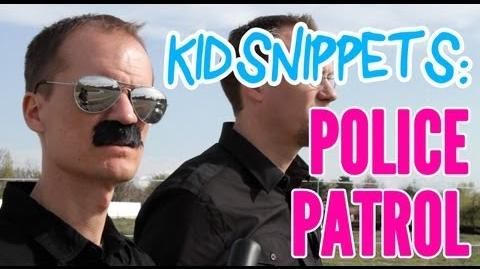 """Kid Snippets """"Police Patrol"""" (Imagined by Kids)"""
