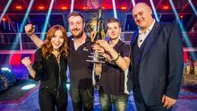 Team Carbide Dara Angela trophy