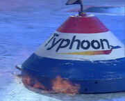 Typhoon burns