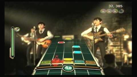The Beatles Rock Band I Saw Her Standing There- Sight Read (99% Gold Stars)