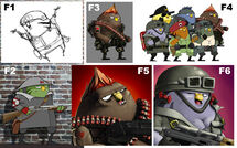 Rocketbirds Co-op Concept