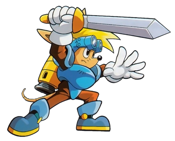 File:Sparkster (Sparkster- Rocket Knight Adventures 2 Official Artwork 4).png