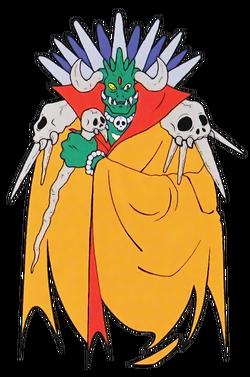 King Gedol (Sparkster- Rocket Knight Adventures 2 Offcial Artwork)