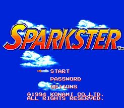 Sparkster-title