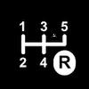 Backwards Goal points icon