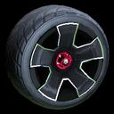 Fireplug wheel icon black