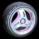 Triplex wheel icon pink
