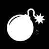 Demolition points icon