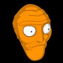 Cromulon topper icon orange