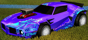 Unmasked decal pink rare