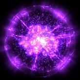 Standard Purple goal explosion icon