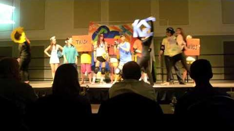 UNCW Talent Show 2013-Rocket Power