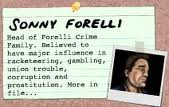 Sonny forelli crime record card
