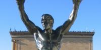 Rocky Balboa statue