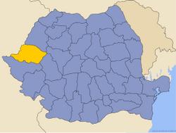 Locatie van District_Arad