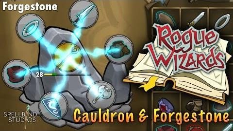 Rogue Wizards Crafting Cauldron & Forgestone