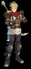 Jaster desert-dweller's clothes