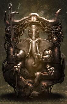 Ganesha (Statue, Meditative Form)