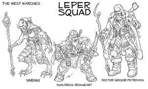 Leper squad by markatron2k