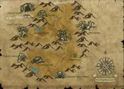 Howling Mountain Map