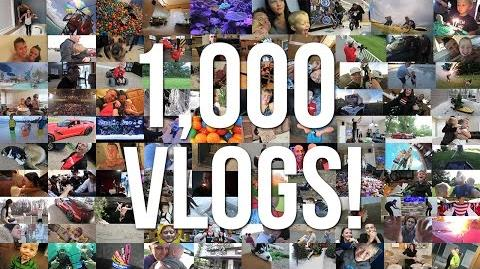 1,000 DAILY VLOGS!!! Super Special Upload