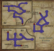 Saoki Cavern map