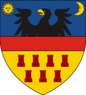 Coat of arms of Transylvania svg