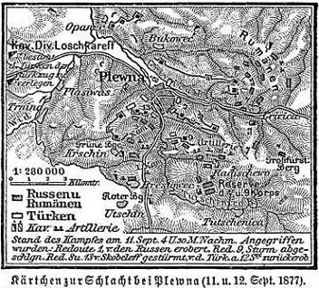 Kärtchen zur Schlacht bei Plewna (11. & 12.09.1877).jpg