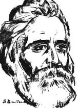 Stefan Dimitrescu - Portretul criticului Garabet Ibraileanu