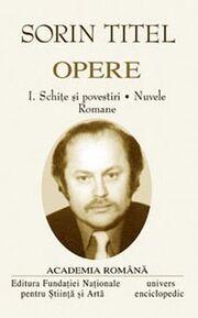 Sorin-titel-opere-vol-1-2 1 produs