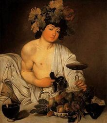 Bacchus, a human god of drunkenness