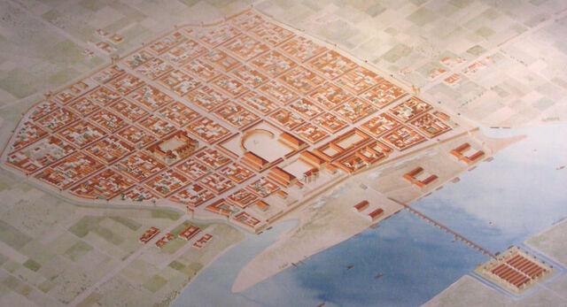 Datei:Roman Cologne, reconstruction.JPG